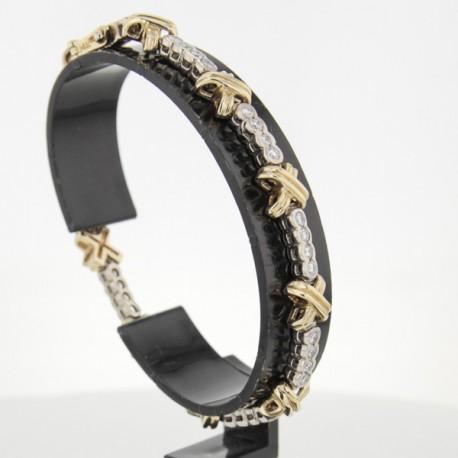 Bracelet Or 18k et diamants