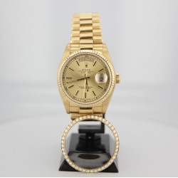 ROLEX Or Oyster Perpetual Day Date