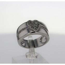 Bague Or blanc 18K diamants MAUBOUSSIN